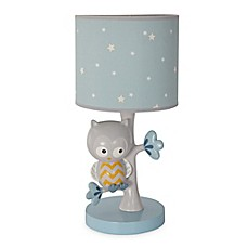 image of Lambs & Ivy® Night Owl Lamp Base and Shade