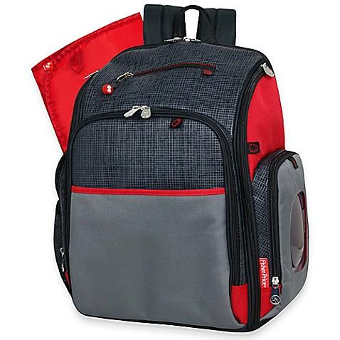 Fisher-Price® Deluxe FastFinder™ Backpack Diaper Bag ...