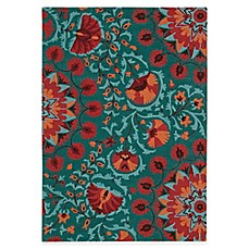 image of Suzani Rug in Teal