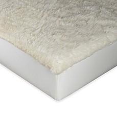 Image Of Mydual Wool Crib Mattress Pad