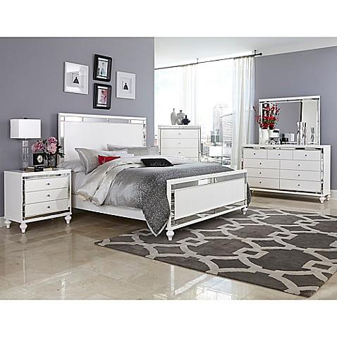 verona home serendipity 5 piece queen bedroom set bed