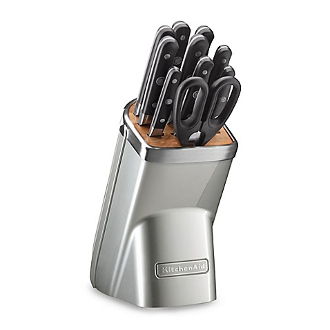Buy Kitchenaid Professional Series 11 Piece Knife Block Set In Sugar Pearl From Bed Bath Beyond