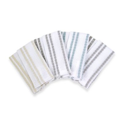 image of Real Simple® Scrubber Dish Cloths (Set of 4)