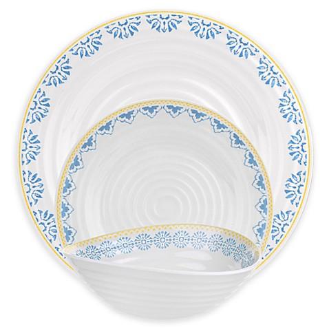 Sophie Conran for Portmeirion\u0026reg; Blue Medallions Melamine Dinnerware Collection  sc 1 st  Bed Bath \u0026 Beyond & Sophie Conran for Portmeirion® Blue Medallions Melamine Dinnerware ...
