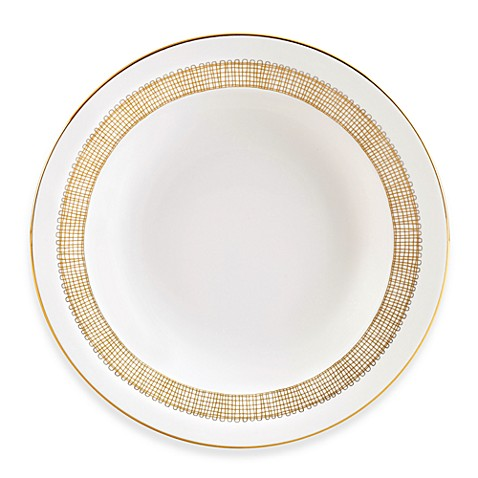 Vera Wang Wedgwood® Gilded Weave Gold Rim Soup Bowl