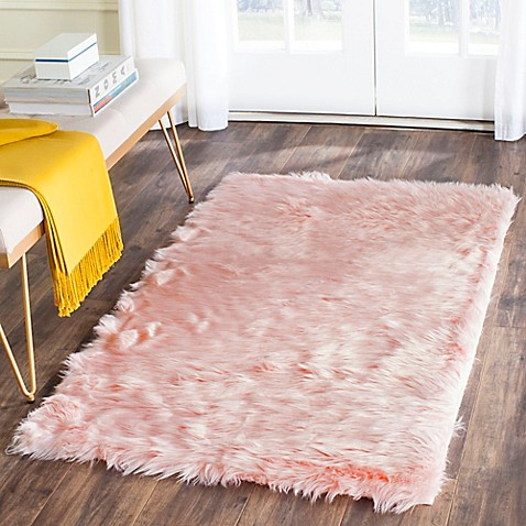 Safavieh Faux Sheep Skin Rug - buybuy BABY