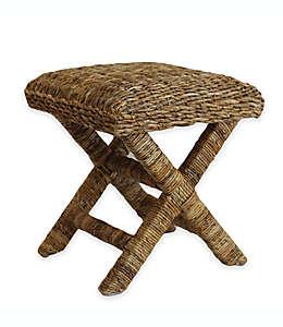 Taburete tipo spa Baum-Essex Cavendish™, con tejido de mimbre