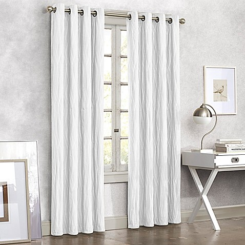 Buy Tangent 108 Inch Grommet Top Window Curtain Panel In