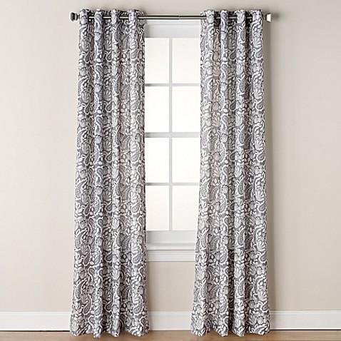 Buy Chloe Print 95 Inch Grommet Window Curtain Panel In