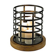 image of Croscill® Large Cage Hurricane Candle Holder