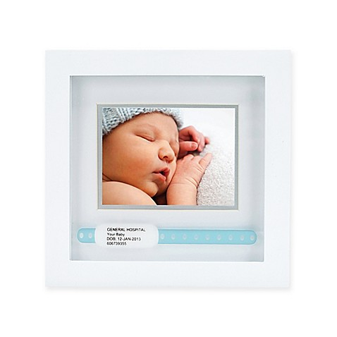 Pearhead Id Bracelet 3 Inch X 4 Inch Picture Frame In White