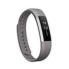 image of Fitbit® Alta™ Leather Accessory Band in Graphite