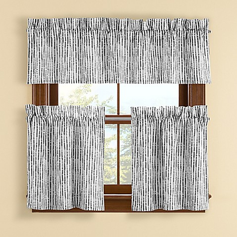 Buy boulder 14 inch window valance in grey from bed bath for 14 inch window