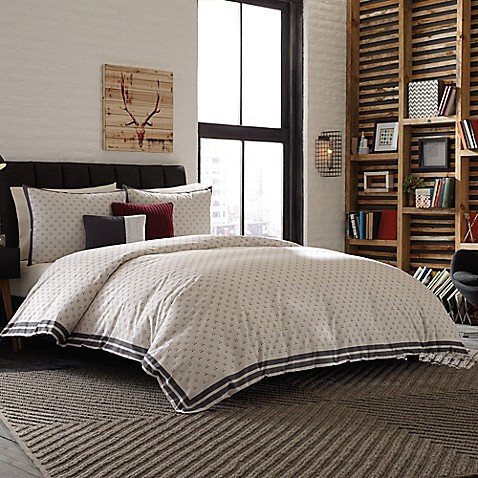 Studio 3b by kyle schuneman hipster hotel duvet cover for Studio one bed cover