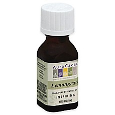 image of Aura Cacia® 0.5 oz. Pure Essential Oil in Lemongrass