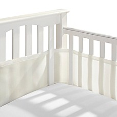 image of BreathableBaby® Breathable Mesh Crib Liner in Ecru
