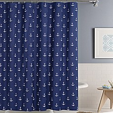 Image Of Anchors Away Shower Curtain