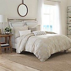 image of Nautica® Sandy Creek Duvet Cover in Beige