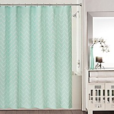 image of Blake Shower Curtain in Aqua