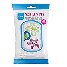 image of MAM 40-Pack Pacifier Wipes