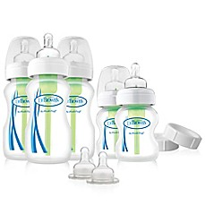 image of Dr. Brown's® Options Wide Neck Newborn Feeding Set