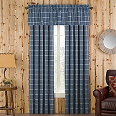image of Branklyn Plaid Window Curtain Panel and Valance