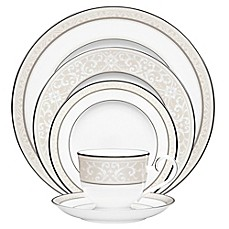 Noritake® Montvale Platinum Dinnerware Collection  sc 1 st  Bed Bath \u0026 Beyond & Fine China | Bed Bath \u0026 Beyond