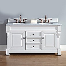 60 Inch White Vanity Base james martin furniture - bed bath & beyond