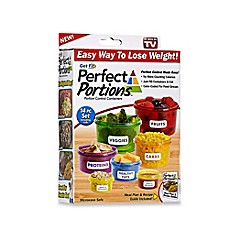 image of Get Fit Perfect Portions™ 14-Piece Portion Control Food Container Set