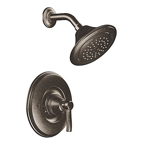 Buy Moen Rothbury Posi Temp 1 Handle Wall Mount Shower Faucet In Oil Rubbed Bronze From Bed