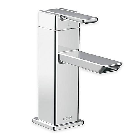 Moen 90 Degree Low Arc Centerset Bathroom Faucet In Chrome Bed Bath Beyond