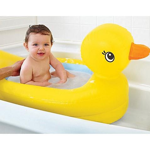 Munchkin® White Hot® Safety Duck Bath Tub - buybuy BABY