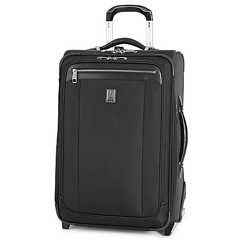 Buy Travelpro 174 Platinum Magna 174 2 22 Inch Expandable Rollaboard Suiter In Black From Bed Bath