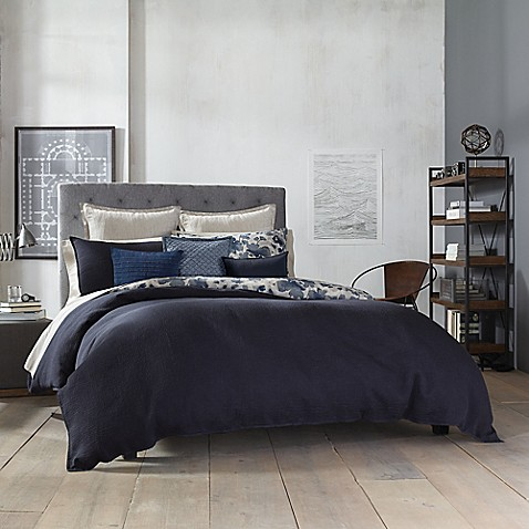 Kenneth Cole New York Fleur Reversible Comforter Bed