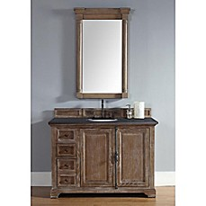 image of James Martin Furniture Providence 48-Inch Single Vanity with Stone Top in Driftwood