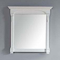 James Martin Furniture Brookfield 39.5 Inch Mirror In Cottage White