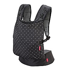 image of Infantino® Zip Ergonomic Travel Baby Carrier in Black