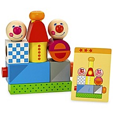 image of Haba Toys Brain Builder Peg Set