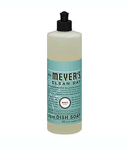 Jabón líquido para trastes Mrs. Meyer´s® aroma albahaca, 473.17 mL