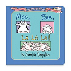image of Moo Baa LaLa Book by Sandra Boynton