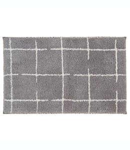 Tapete para baño de poliéster SALT™ color gris aleación