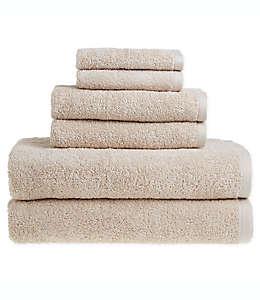 Set de toallas de algodón Clean Start color beige