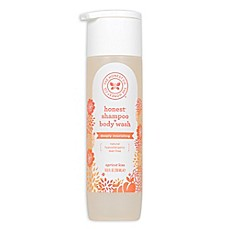 image of Honest 10 fl. oz. Shampoo + Body Wash Deeply Nourishing in Apricot Kiss