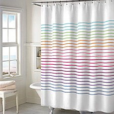 Image Of Color Stitch Shower Curtain
