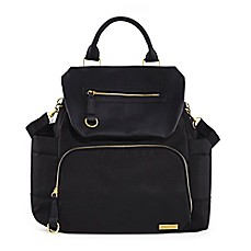 image of SKIP*HOP® Chelsea Downtown Chic Diaper Backpack in Black