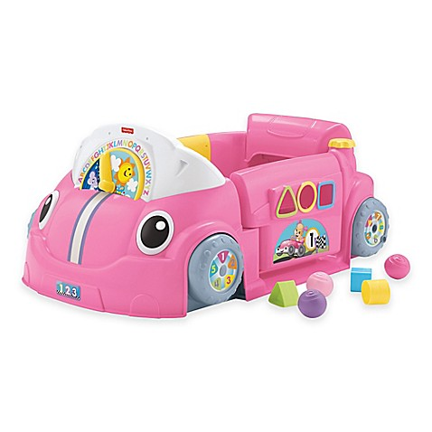 Fisher-Price® Laugh & Learn™ Crawl Around™ Car in Pink