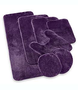 Tapete para baño en herradura Wamsutta® Duet, púrpura azulado