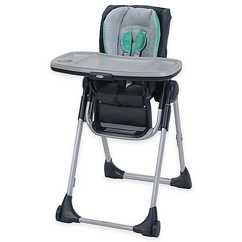 Graco 174 Swift Fold Lx High Chair In Basin Buybuy Baby