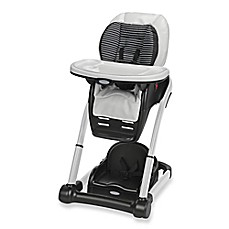 image of graco blossom 4in1 high chair seating system in