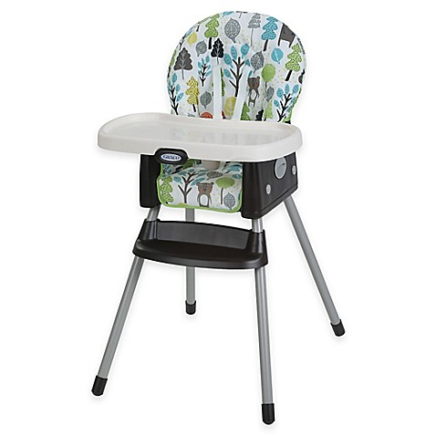 Graco SimpleSwitch High Chair In Bear Trail Bed Bath